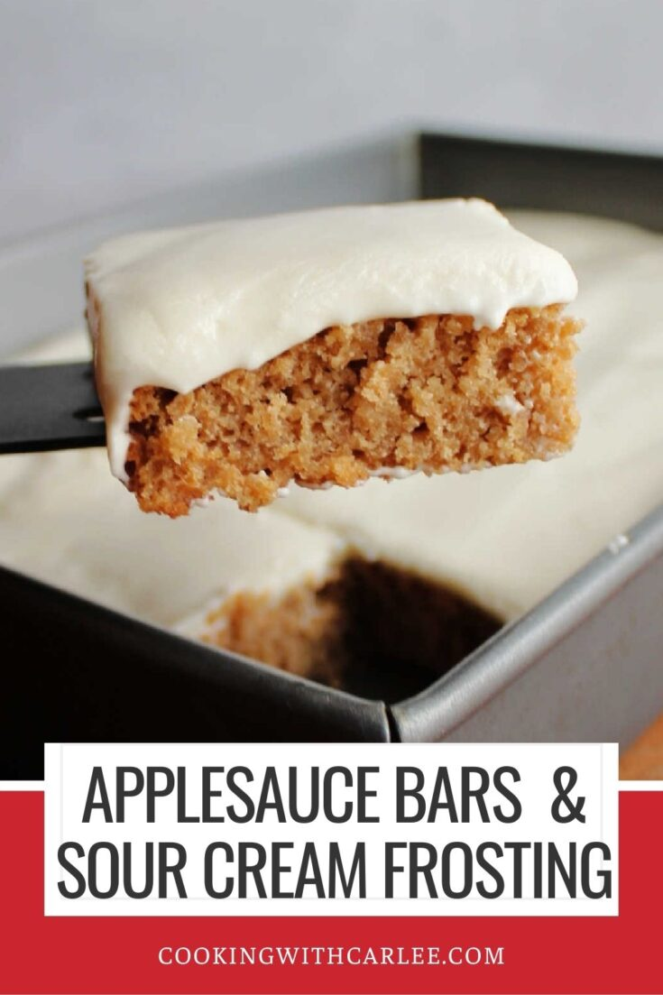 applesauce bars