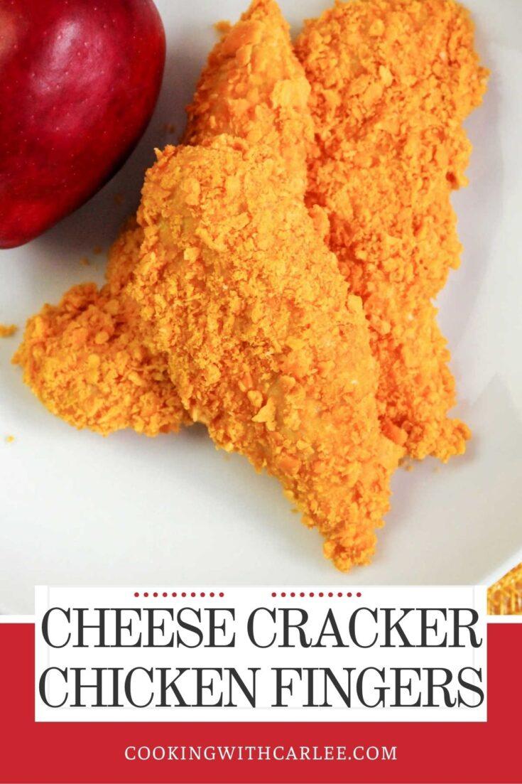 cheese cracker chicken fingers 1