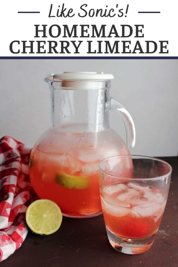Cool off with a refreshing drink of homemade freshly squeezed cherry limeade. It is super simple to make and has the perfect balance of sweet and tart.