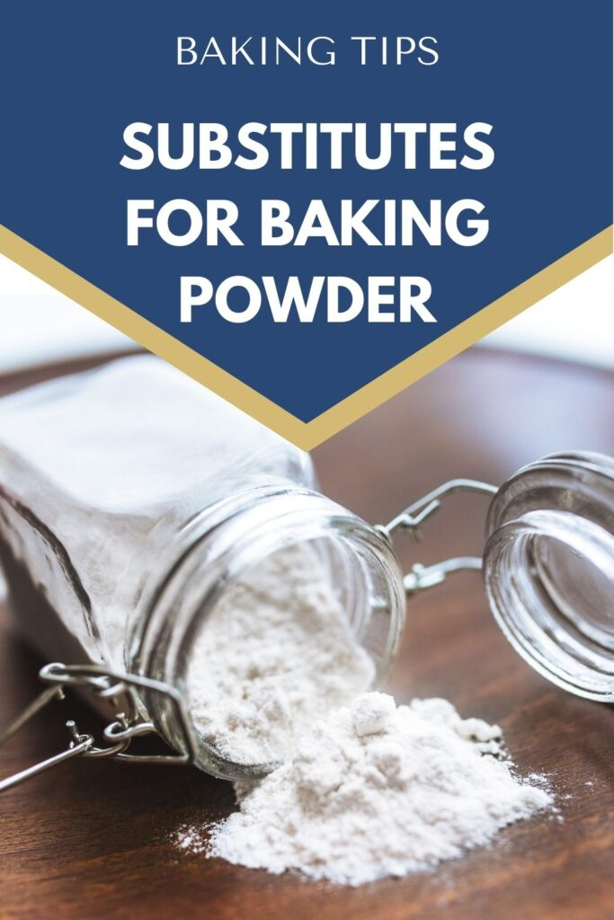 Baking powder is a staple when you are baking cakes, cookies, pancakes, quick breads and more. But what happens when you reach in the cabinet and it's not there? Here are some substitutions for baking powder in a pinch.