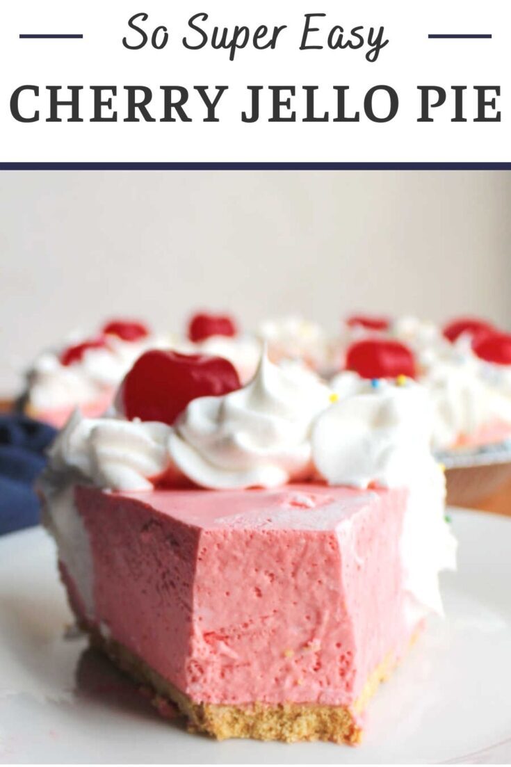 cherry jello pie