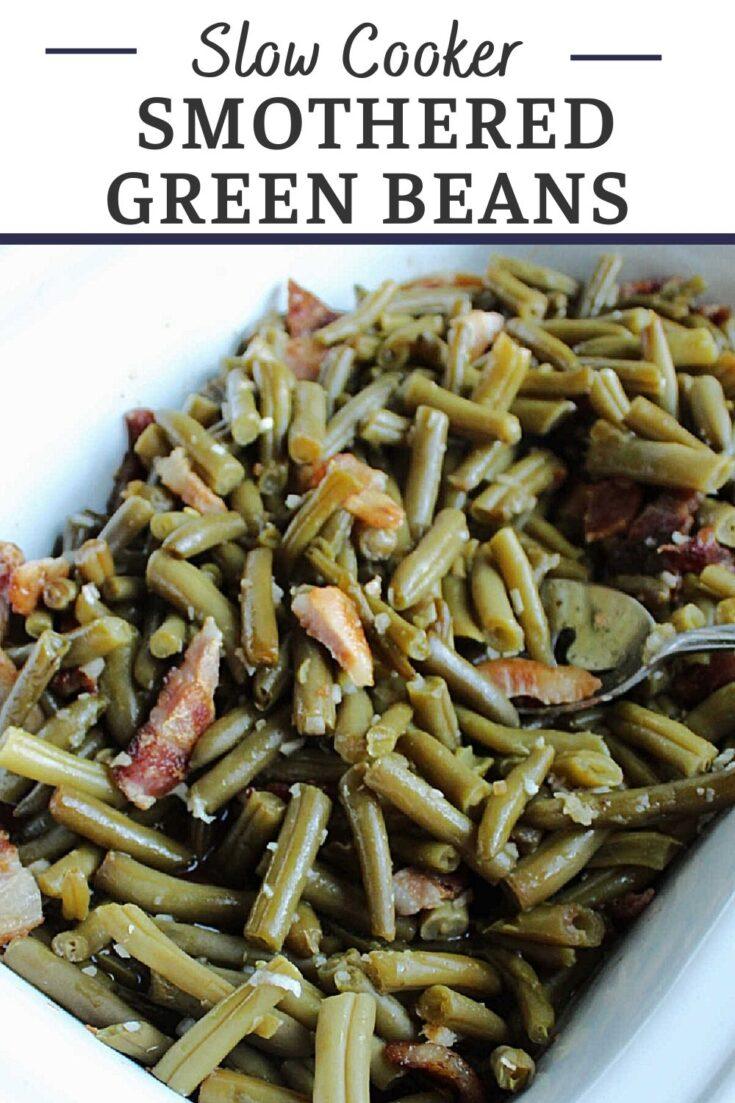 crock pot smothered green beans
