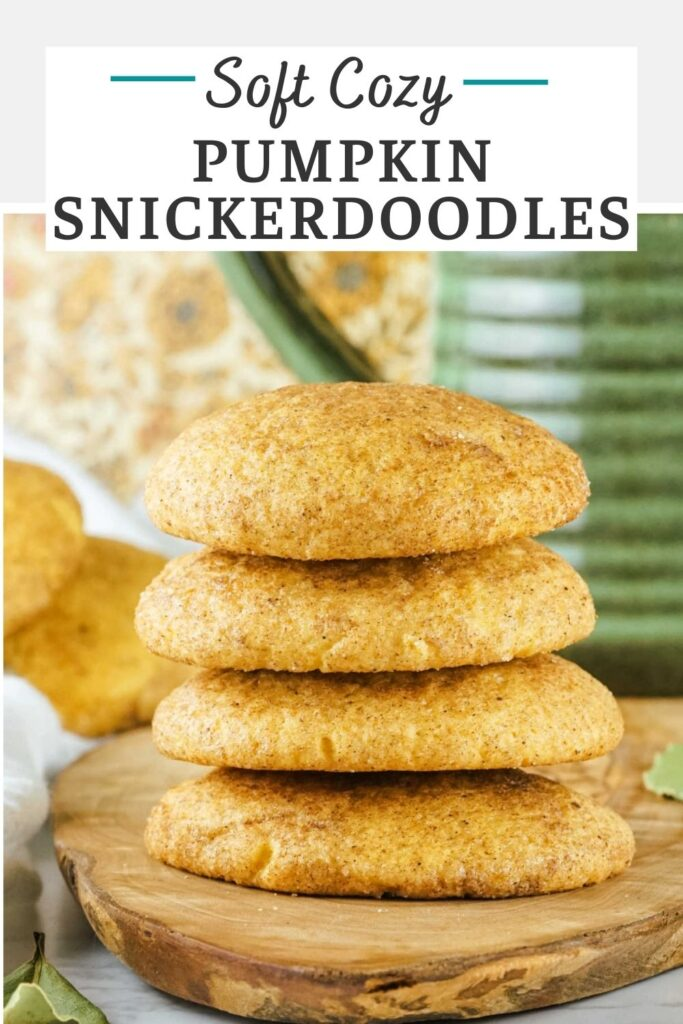 Take the classic cookie to the next level with pumpkin and pumpkin pie spice. These soft pumpkin snickerdoodle cookies are a perfect excuse to make a Christmas classic in the fall too!